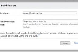 TeamCity AssemblyInfo Patcher